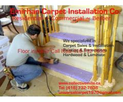 Cap stairs and box stairs installation