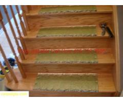 STAIRS BOX STAIRS CAP STAIRS CARPET  INSTALLED