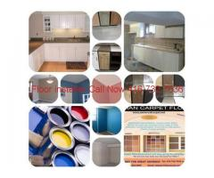 Renovation, Construction & Carpet Installation works