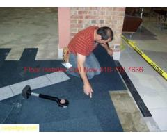 Flooring Commercial & Residential CARPET tile Installation