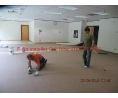 Flooring installations: Commercial and residential