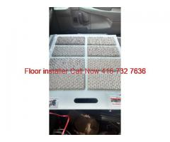 wall to wall carpet and carpet tile
