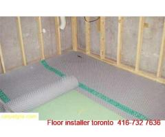 Commercial and residential Carpet Installations