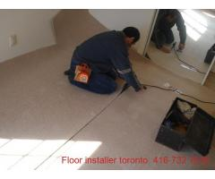 Carpet, Underpad  and  Installation