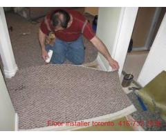 CARPET STRETCH AND INSTALLATION