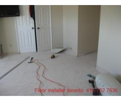 commercial carpet instalation